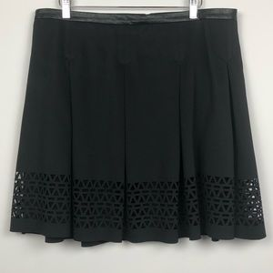 Catherine Catherine Malandrino Cut-Out Skirt